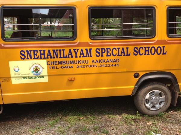 Cochin, school bus