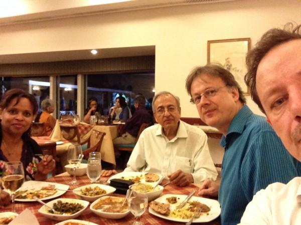 Delhi, dinner at Golf Club