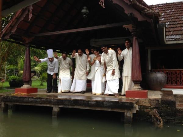Kerala, hotel staff