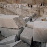 Immense Blocks of Stone at Brac Island Stone Quarry
