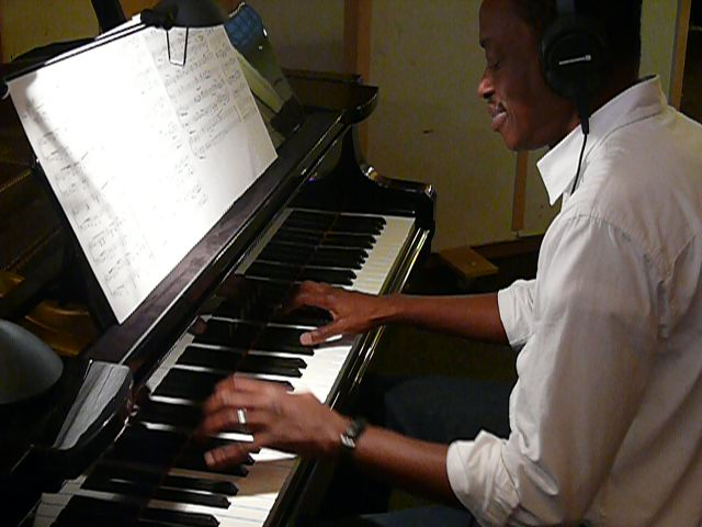 Baxter on Piano