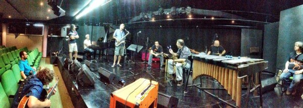 All star rehearsal