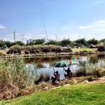 Fishers in Tel aviv